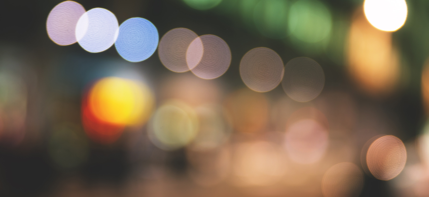 City Lights Bokeh 2015